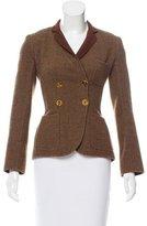 Fendi Double-Breasted Wool Blazer
