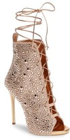 Giuseppe Zanotti Women's Giuseppe For Jennifer Lopez Lynda Embellished Lace-Up Sandal