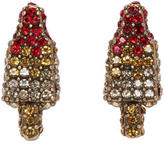 Marc Jacobs Gold Poolside Rocket Pop Earrings