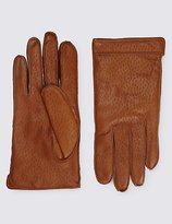 Italian Leather Gloves With Thinsulatetm