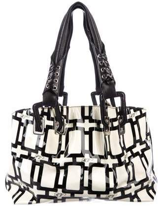 Roger Vivier Patent Leather Small Tote