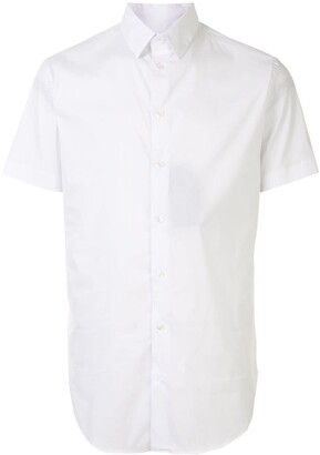 Giorgio Armani Short-Sleeve Fitted Shirt