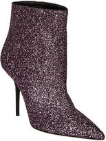 Saint Laurent Pierre Glitter Ankle Boot