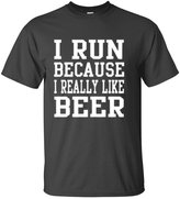 YM Wear I Run Because I Really Like Beer T Shirt