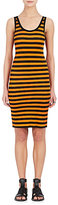 Givenchy Women's Striped Fitted Sleeveless Dress