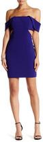 Jay Godfrey Ankara Off-The-Shoulder Mini Dress