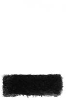 Quiz Black Fur Head Band