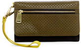 Fossil Preston Perforated Leather Phone Wallet