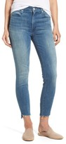 Mother Women's The Stunner High Rise Ankle Fray Jeans