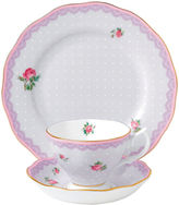 Royal Albert Candy 3-pc. Cup and Saucer Set