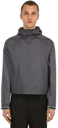 Prada Hooded Nylon Gabardine Jacket