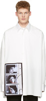 Raf Simons Off-White Robert Mapplethorpe Edition Self Portrait Oversized Shirt