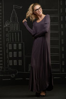 Shabby Apple Ross Sea Maxi Dress Grey