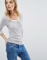 Selected Stripe Top