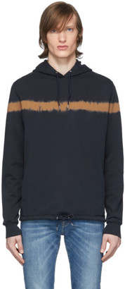 Paul Smith Navy Tie-Dye Hoodie