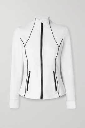 All Access Replay Stretch-jersey Jacket - White