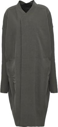 Rick Owens Daggerpea Cotton-blend Crepe Coat
