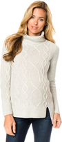 A Pea in the Pod Rib Knit Maternity Sweater