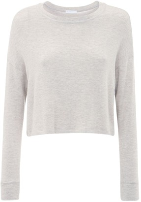 Beyond Yoga Brushed Up Cropped Sweatshirt