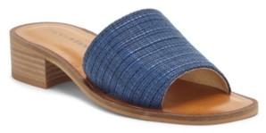 Lucky Brand Women's Frijana Block-Heel Slides Women's Shoes