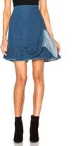 J.W.Anderson Ruffle Hem Skirt