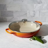 Crate & Barrel Le Creuset ® Glass Covered 3.5 qt. Flame Buffet Casserole Dish