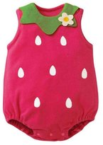 FTXJ Baby Jumpsuits,Super Cute Newborn Boy Girl Infant Sleeveless Romper Bodysuit (0-3M, )
