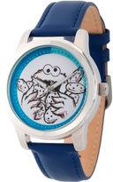 Sesame Street Unisex Blue Strap Watch-Wss000020
