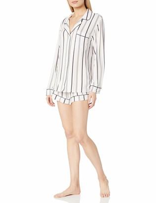 Eberjey Women's Long Sleeve Short PJ Set