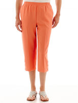 Alfred Dunner Classic Pull-On Capris
