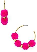 BaubleBar Havana Hoop Earrings