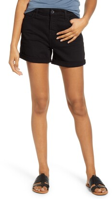 JEN7 by 7 For All Mankind Roll Cuff Denim Shorts