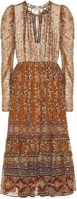 Ulla Johnson Alessandra silk fil coupA dress