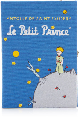 Olympia Le-Tan Le Petit Prince Appliqued Canvas Book Clutch