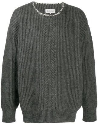 Maison Margiela Ribbed-Knit Jumper