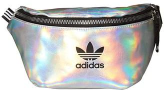 adidas Metallic Waist Pack (Silver Metallic/Iridescent) Backpack Bags