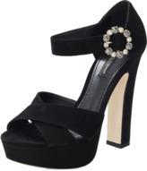 Dolce & Gabbana Suede Platform Sandal