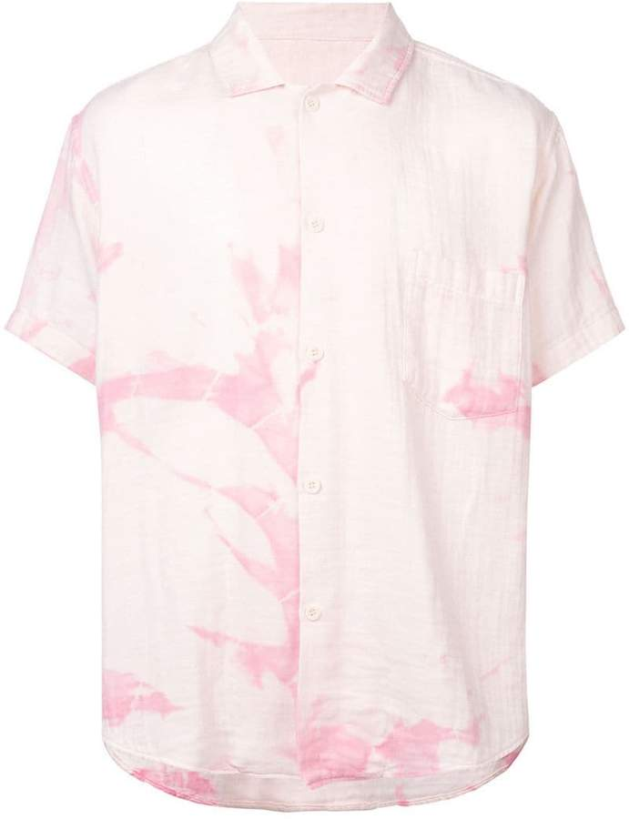 The Elder Statesman cyclone dyed shirt
