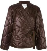 3.1 Phillip Lim padded kimono jacket - women - Acrylic/Polyamide - S
