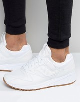 Saucony Grid 8500 Trainers In White S70286-2
