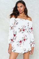 Nasty Gal nastygal Plant Help Fallin' in Love WIth You Floral Romper