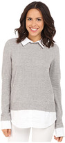 Brigitte Bailey Jocasta Long Sleeve Contrast Flannel Top