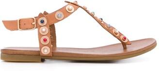 Carvela Kankan cabochon-embellished sandals