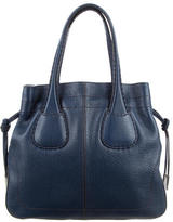 Tod's Drawstring Leather Tote