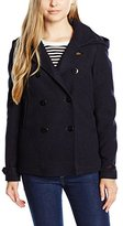 Scotch & Soda Maison Scotch Women's Hooded Peacoat