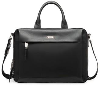 Bally Vogel Leather Briefcase