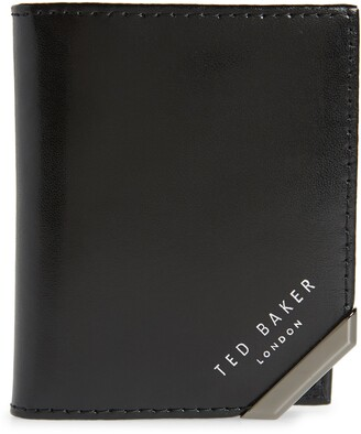 Ted Baker Coral Leather Bifold Wallet