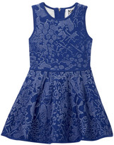 Milly Minis Floral Jacquard Fit & Flare Dress (Toddler & Little Girls)