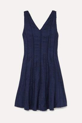 J.Crew Raeburn Embroidered Lace Mini Dress - Navy