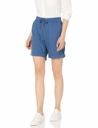 Chaps Women's Stretch Cotton Cargo Short